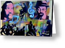 Mo Betta Blues Greeting Card