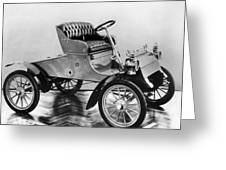 Model A Ford, 1903 Greeting Card