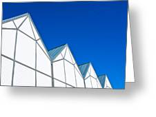 Modern Architecture Greeting Card by Tom Gowanlock