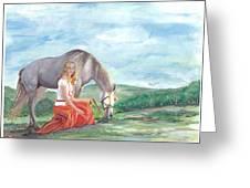 Modern Ayla Greeting Card