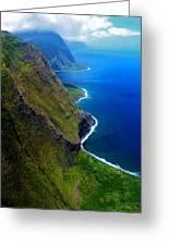 Molokai Coast Greeting Card