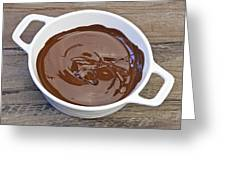 Molten Chocolate Greeting Card