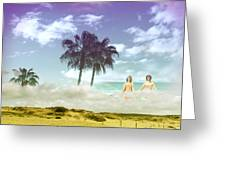 Mom's Tropical Dreams Greeting Card