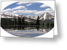 Monarch Pass Lake Greeting Card