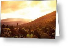 Monastic Site, Glendalough, Co Wicklow Greeting Card