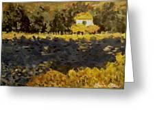 Monet House Greeting Card
