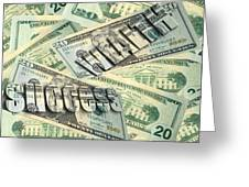 Money Wealth And Success Greeting Card