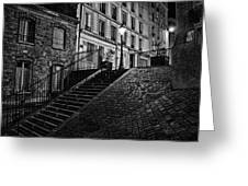 Montmartre After Dark Greeting Card