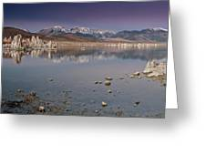 Mono Lake Panorama Greeting Card