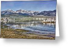 Mono Lake Sierra Greeting Card