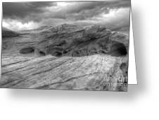 Monochrome Landscape Project 3 Greeting Card