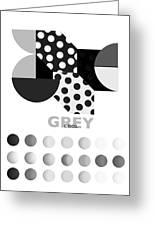 Monochrome Pheonix Greeting Card