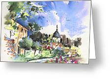 Monpazier In France 01 Greeting Card