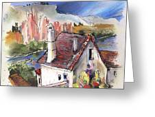 Monpazier In France 05 Greeting Card