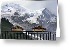 Mont Blanc Greeting Card