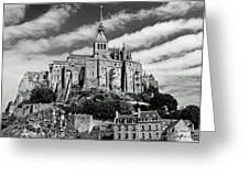 Mont St. Michel Greeting Card