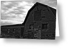 Montana Barn Greeting Card