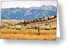 Montana Farm9404 Greeting Card