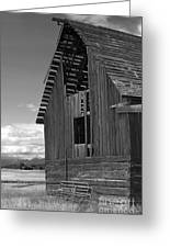 Montana Weathered Barn Greeting Card