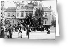 Monte Carlo - Casino - C 1898 Greeting Card