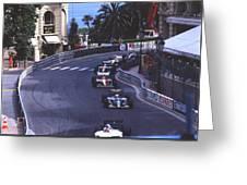 Monte Carlo Casino Corner Greeting Card