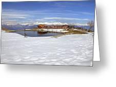 Monte Tamaro - Alpe Foppa - Ticino - Switzerland Greeting Card by Joana Kruse