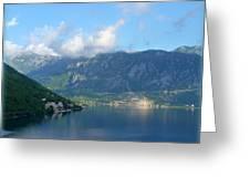 Montenegro's Bay Of Kotor Greeting Card