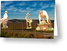 Monterey Farmers Greeting Card