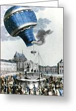 Montgolfier Balloon Greeting Card