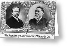 Montgomery Ward Founders Greeting Card