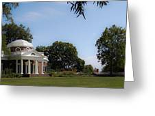 Monticello Grounds Greeting Card