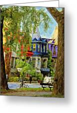Montreal  Architecture 2 Greeting Card