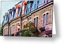 Montreal Architecture Greeting Card