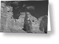 Monument Rocks 2 Greeting Card