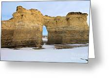 Monument Rocks Arch Greeting Card