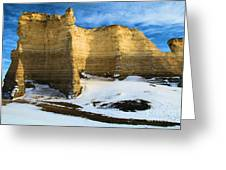 Monument Rocks Castle Greeting Card