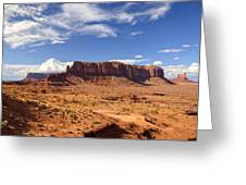 Monument Valley Arizona  Greeting Card