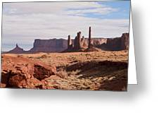 Monument Valley Totem Pole Greeting Card