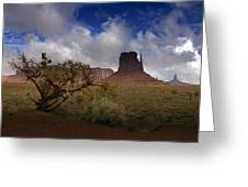 Monument Valley Vista Greeting Card