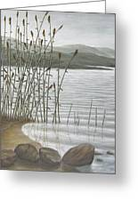Moods Of The Lake Greeting Card