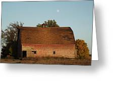 Moon Barn IIi Greeting Card