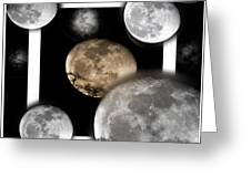 Moon From The Country Greeting Card
