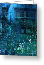 Moonlight In The Garden Greeting Card