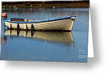 Moored And Ready Greeting Card