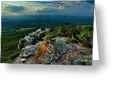 Moore's Knob Sunset Greeting Card