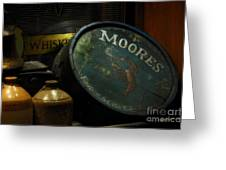 Moore's Tavern After Closing Greeting Card by Mary Machare