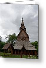 Moorhead Stave Church 2 Greeting Card
