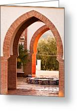 Moorish Arches Greeting Card