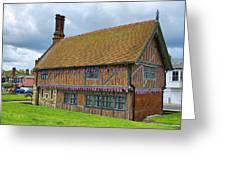 Moot Hall Aldeburgh Greeting Card