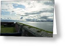 Moray Firth From Fort George Greeting Card